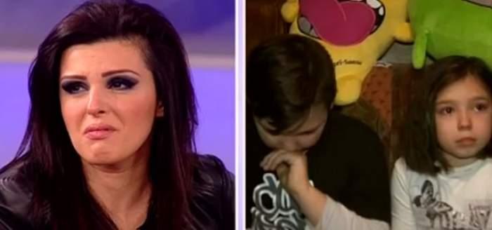 Diana Bişinicu, în lacrimi la TV! Ce a păţit frumoasa artistă