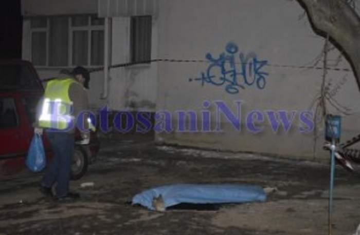 VIDEO / S-A SINUCIS! O studentă din Botoşani a sărit de pe acoperişul unui bloc de 10 etaje