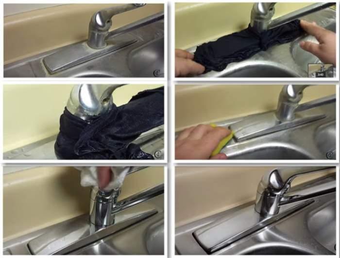 ÎNTREBAREA ZILEI - JOI: Cum să cureţi uşor şi în mod natural calcarul de pe robineţi?