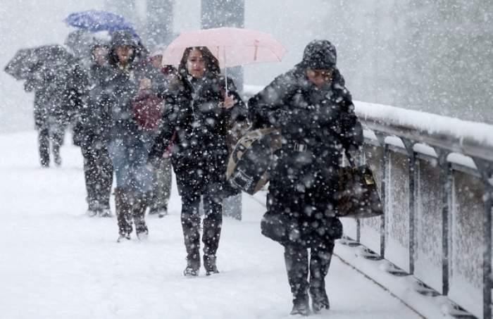 Cod PROTOCALIU de ninsoare! Ce zone sunt vizate