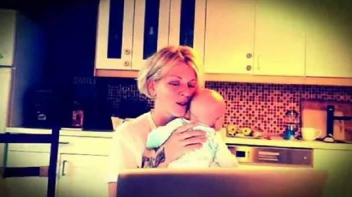 VIDEO / Dana Nălbaru, o mamă eroină! Cântăreaţa a postat un filmuleţ cu băieţelul ei, iar imaginile au devenit virale