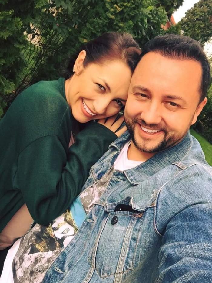 Andra și Cătălin Măruță și-au creștinat fetița! Emoțiile au fost ca la ele acasă pentru cei doi părinți