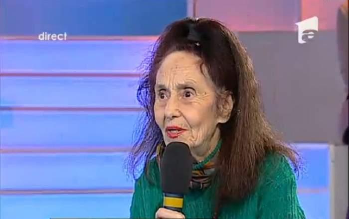 Cea mai batrână mamă din România ajunge în faţa judecătorilor! Cine îi face zile fripte Adrianei Iliescu