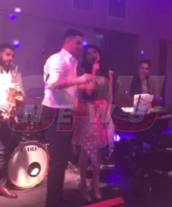 VIDEO / Toţi invitaţii au rămas uimiţi! Ce a făcut Ellie White în toiul petrecerii de la botez