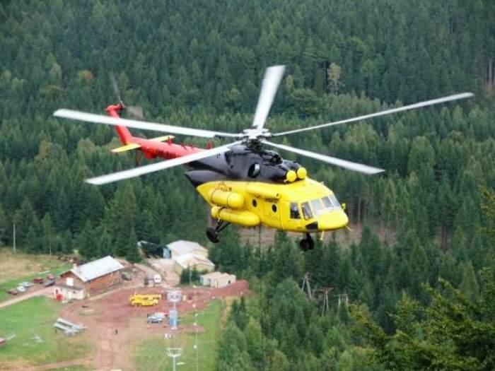 5 morţi după ce un elicopter s-a prăbuşit