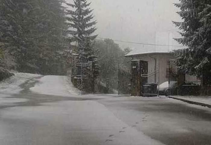 VIDEO / Prima ninsoare din acest an, primele probleme! Trafic restricţionat, iar mai multe localităţi din ţară au rămas fără curent