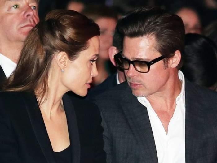 Brad şi Angelina Jolie, la un pas de divorţ! Actorul îi reproşează soţiei sale că este prea slabă