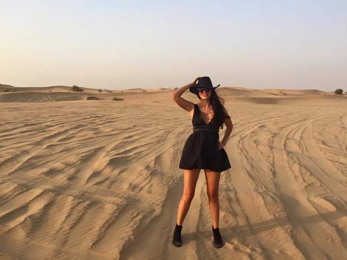 A dat imobiliarele pe haine second hand. Silvia Pop câştigă 20.000 de dolari pe oră, în Dubai