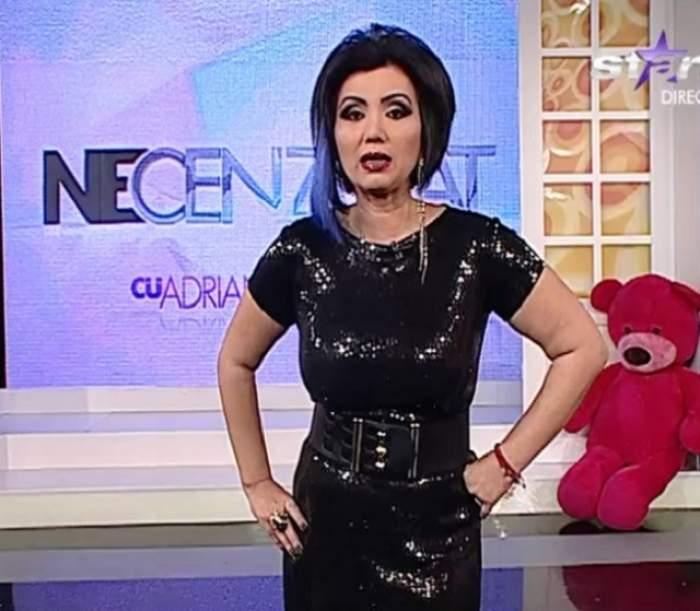 """VIDEO / Bahmu, cine ţi-a rupt hainele? Cum a venit îmbrăcată la TV prezentatoarea """"Necenzurat"""""""
