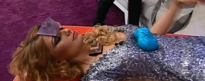 Sylvia, ajunsă la podea, în timpul unei emisiuni! Ce a păţit?