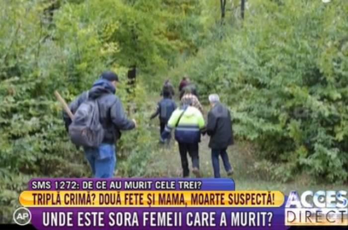 VIDEO / Triplă crimă în Vrancea? Două fetiţe şi mama lor, găsite moarte în pădurea pe care o cunoşteau ca în palmă. Prima suspiciune este CRIMA!