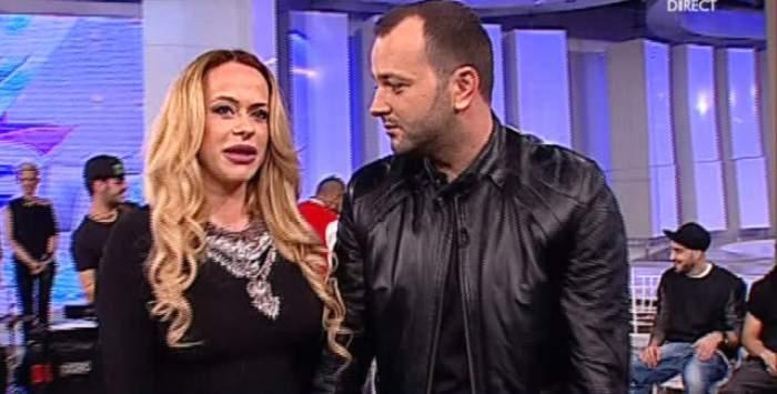 A luat-o în braţe şi i-a sărutat burtica de gravidă! Mihai Morar şi Anda Adam, aşa cum nu i-ai mai văzut până acum!