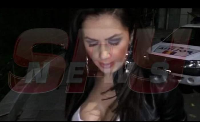 IMAGINI EXCLUSIVE / Oana Zăvoranu, ameninţată cu moartea în miez de noapte! A ajuns de urgenţă la Poliţie!