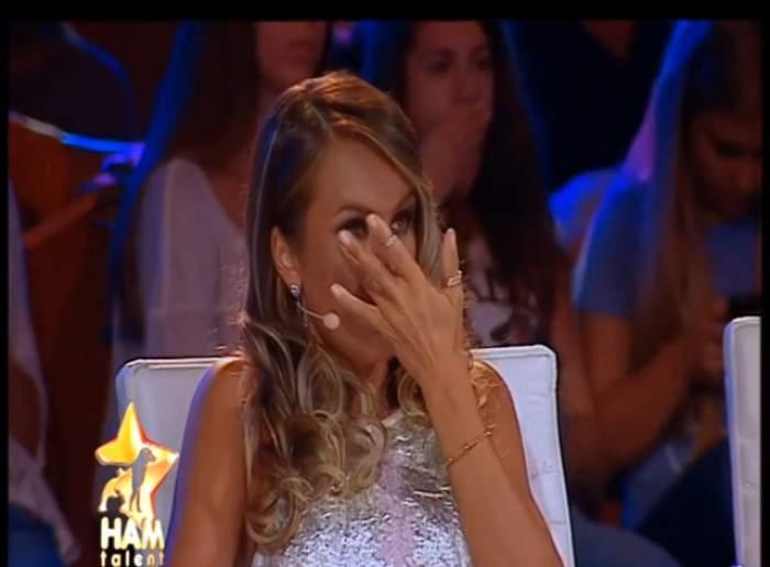 """VIDEO / Diana Munteanu şi Beatrice Rancea, emoţionate până la lacrimi la """"Ham talent""""!"""