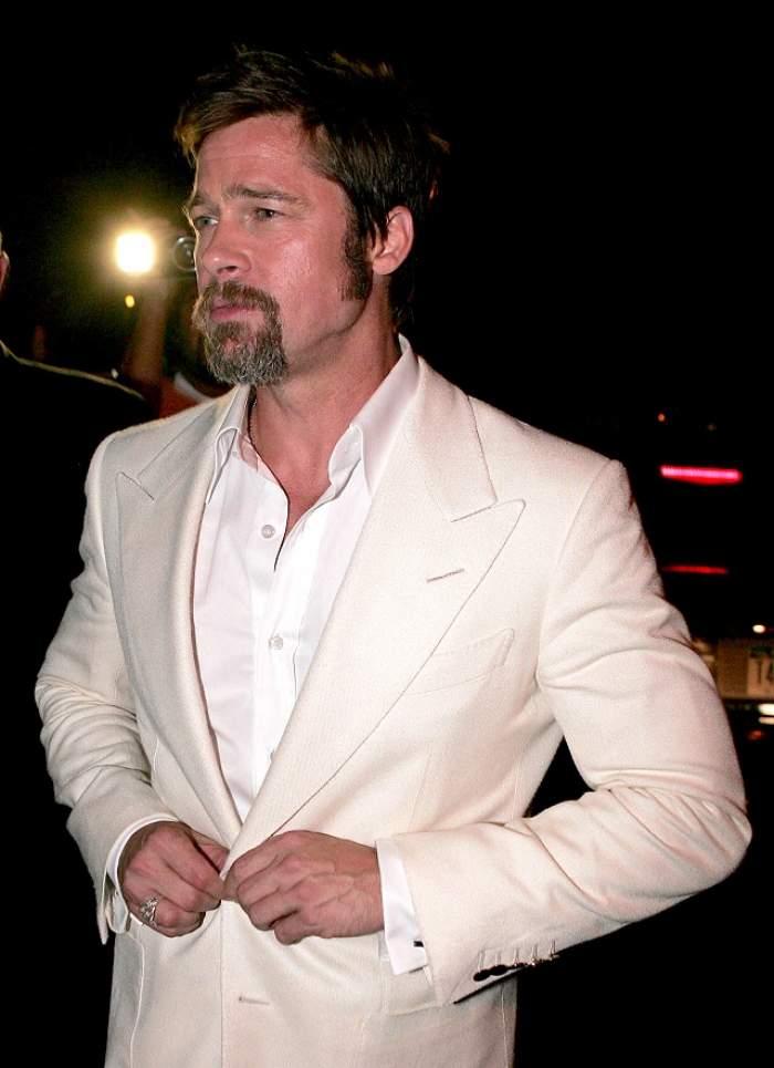 Brad Pitt are părul alb în cap! Cât timp a trecut până ce râvnitul actor a ajuns aşa?