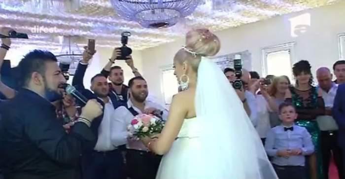 VIDEO / Uite cine a prins buchetul de mireasă al Sânzianei Buruiană! Bat clopote de nuntă pentru un alt cuplu monden?