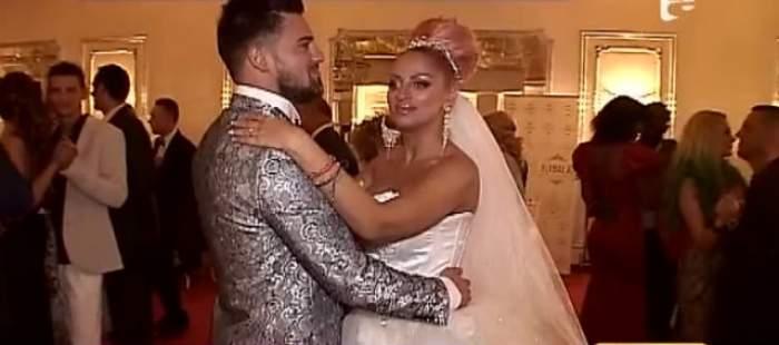 VIDEO / Petrecere de pomină la nunta Sânzianei Buruiană! Andreea Tonciu a rupt ringul de dans, alături de miri