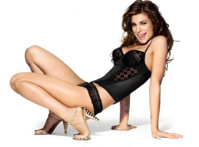 Elisabetta Canalis, fosta iubită a lui George Clooney, a născut! Prima imagine cu copilul