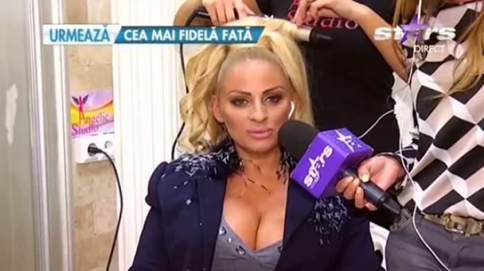 """Prima imagine cu Sânziana Buruiană în rochia pe care o va purta la cununia civilă: """"Are un decolteu generos!"""""""