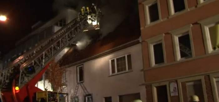VIDEO / Patru români şi-au pierdut viaţa în urma unui incendiu în Germania