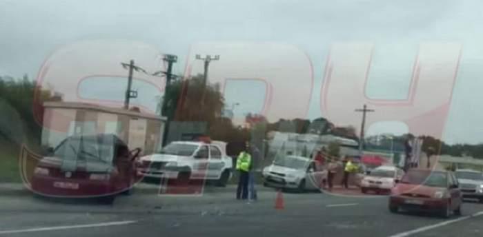 VIDEO / Accident GRAV pe Centura Bucureştiului!