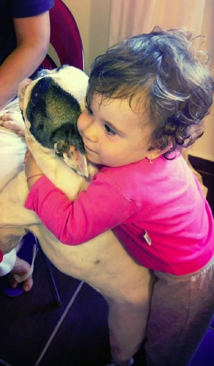 """Cea mai frumoasă şi emoţionantă fotografie cu fiica Oanei Roman. """"Minunea mea împlineşte un an şi opt luni"""""""