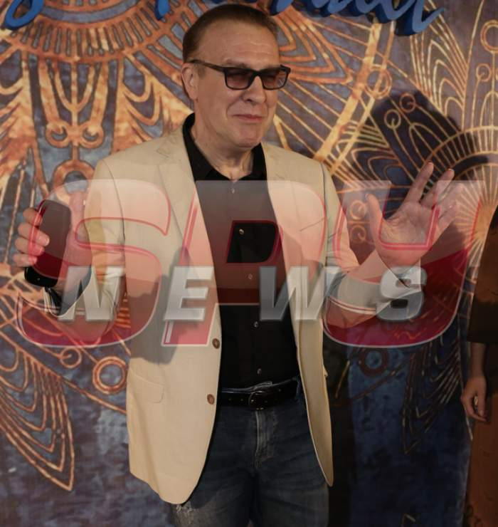 Gabriel Cotabiţă, la prima apariţie publică după infarct! A râs şi a făcut glume cu jurnaliştii!
