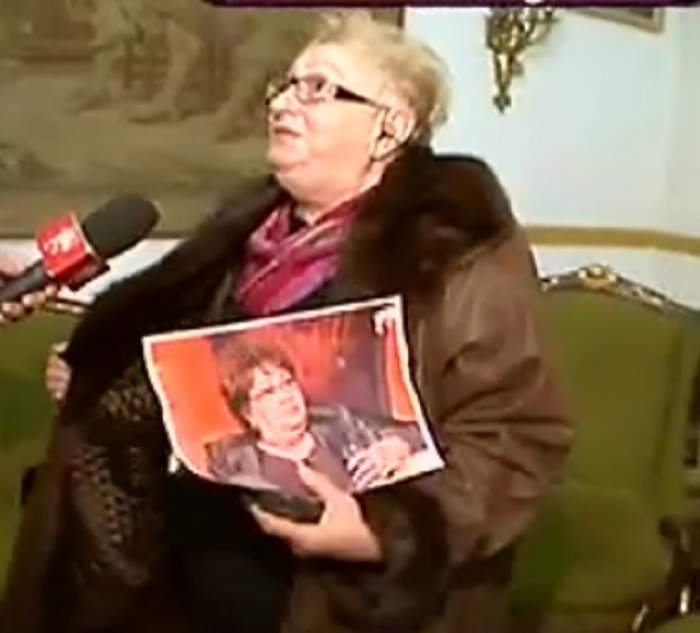 """VIDEO / Sosia Marioarei Zăvoranu nu a plecat cu mâna goală din vila de la Afumaţi: """"Sunt şi eu acum o doamnă!"""""""