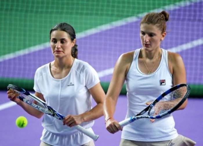 Irina Begu şi Monica Niculescu s-au calificat în semifinale la Moscova