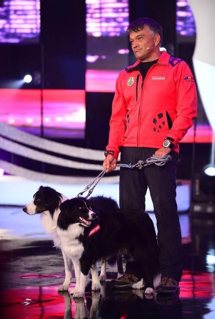 """Poveste emoţionantă la """"Ham Talent""""! Helios,  primul câine din țară antrenat să găsească victimele avalanșelor"""
