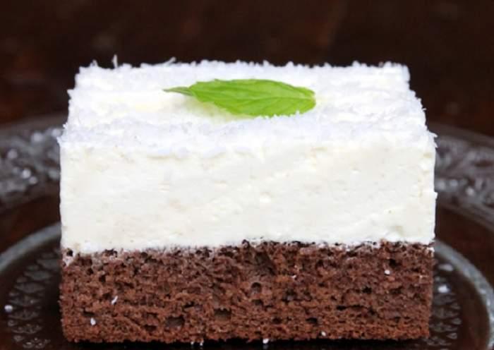 REŢETA ZILEI - VINERI: Prăjitura zi şi noapte! Te vei îndrăgosti de gustul ei