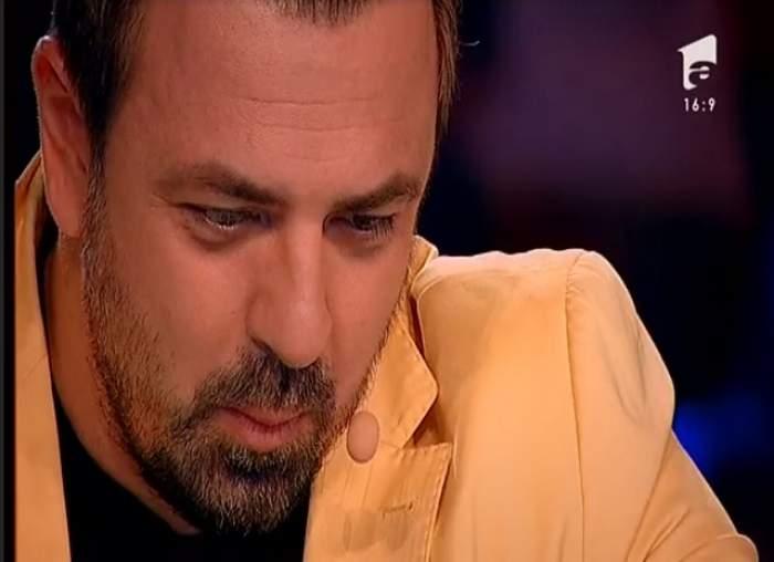 """VIDEO / Moment MEMORABIL la X Factor! Un concurent l-a făcut pe Horia Brenciu să plângă: """"Îţi mulţumesc că ai venit!"""""""