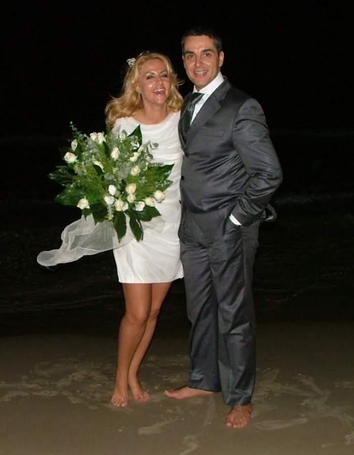 Oana Turcu şi Cristi Brancu au ce sărbători! Frumoasa blondă şi soţul ei împlinesc astăzi şapte ani de la căsătorie