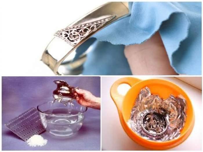 Magie la tine acasă. Cum îți cureți ușor bijuteriile din argint, cu ingrediente pe care sigur le ai în bucătărie