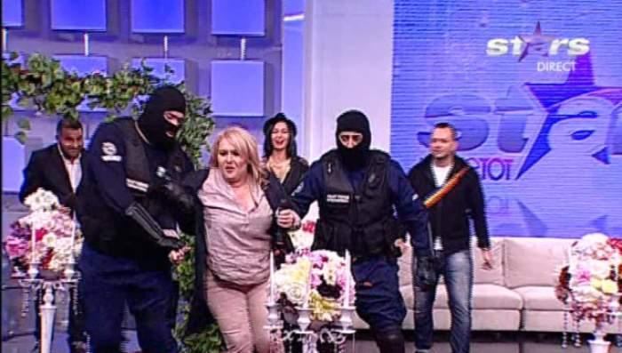 """Moment de PANICĂ, în direct! Viorica de la Clejani a fost RĂPITĂ de mascaţi! Mihai Morar: """"Lucrurile au scăpat de sub control!"""""""