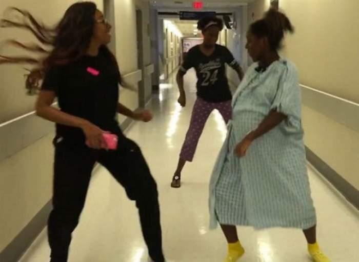 VIDEO / A dansat cât au ţinut-o picioarele, deşi era în travaliu! Acest video face înconjurul lumii