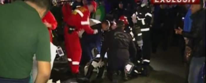 VIDEO / ULTIMĂ ORĂ! A luat FOC un club din CAPITALĂ! Zeci de oameni sunt resuscitaţi pe stradă