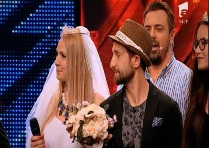 """VIDEO / Nuntă pe scena """"X Factor""""! Dani Oţil se însoară la televizor"""