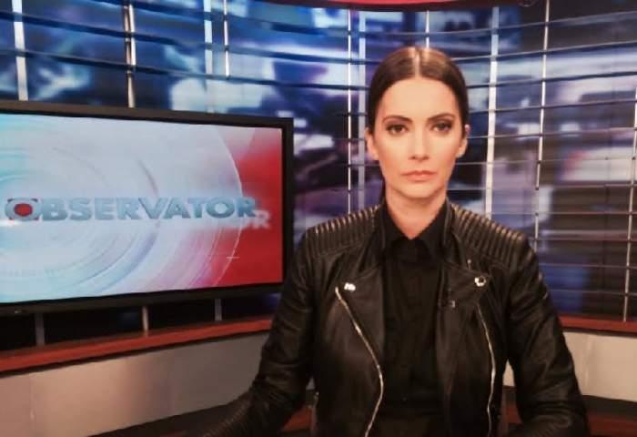 Ținută surprinzătoare a Andreei Berecleanu. Cum a apărut la TV, în semn de SOLIDARITATE cu VICTIMELE tragediei din COLECTIV
