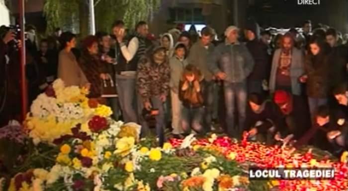 """Totul s-a tranformat într-un adevărat loc de pelerinaj! Sute de oameni vin să aprindă lumânări la """"clubul Groazei"""""""