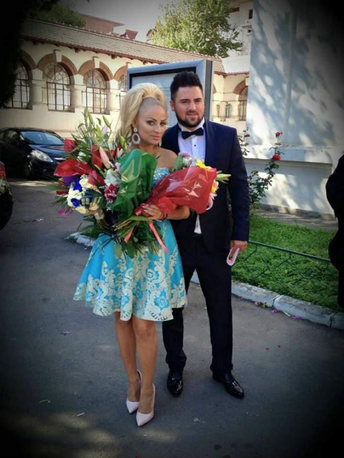 Sânziana Buruiană este, în sfârşit, doamnă! Tătăl ei a făcut declaraţii emoţionante după ce blondina s-a măritat cu Nicolae Zuluf