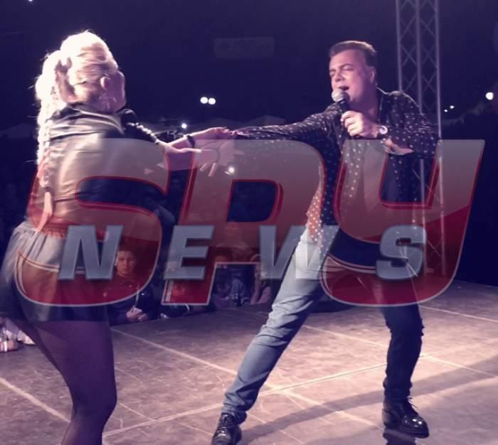 Show total cu Adrian Enache și Rocsana Marcu! Artistul s-a dat în stambă în fața a mii de oameni