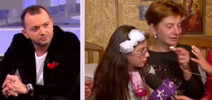 Mihai Morar, cu ochii în lacrimi! Această mamă vrea să îşi vândă un rinichi pentru a-şi salva fetiţa