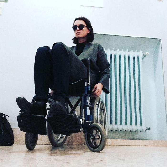 Catrinel Menghia a ajuns în scaunul cu rotile! Primele cuvinte ale vedetei, despre eveniment
