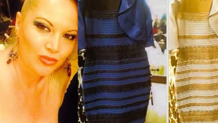 E goală? Apariţia Oanei Lis a stârnit controverse mai mari decât rochia în două culori