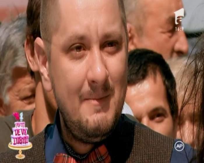 """Octavian Strunilă, în lacrimi la """"Poftiţi de vă iubiţi""""! Ce a păţit actorul"""