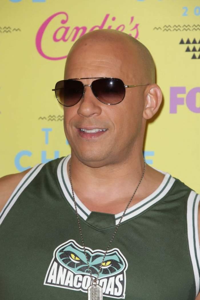 FOTO / Ce a fost şi ce a ajuns! Vin Diesel s-a îngrăşat foarte tare şi arată horror!