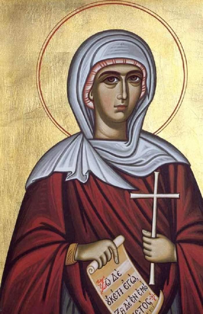 Sărbătoarea zilei de 8 octombrie: Sfânta Pelaghia
