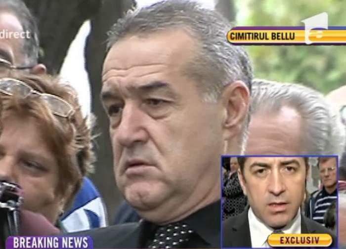 VIDEO / Momente sfâşietoare! Gigi Becali, în lacrimi la mormântul Paulei Iacob