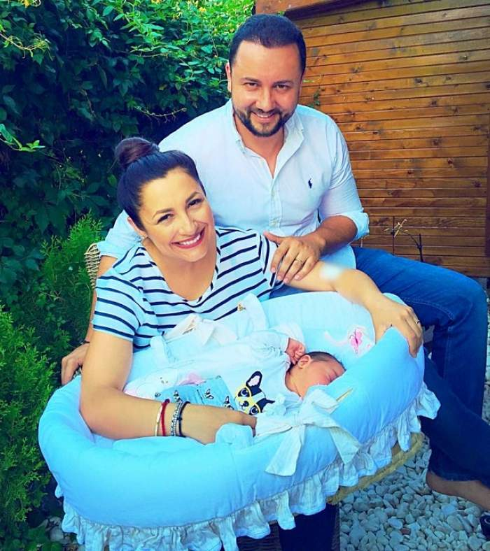 Totul despre botezul fiicei Andrei! Suma colosală pe care a plătit-o pentru acest eveniment important